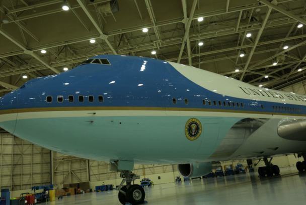 11-S: dentro del Air Force One