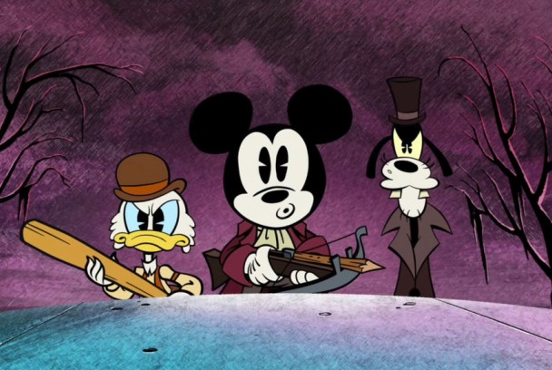 Mickey Mouse S3: The Scariest Story Ever: A Mickey Mouse Halloween Spooktacular!