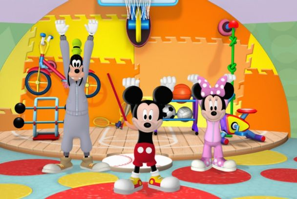 Mickey Mousejercicios
