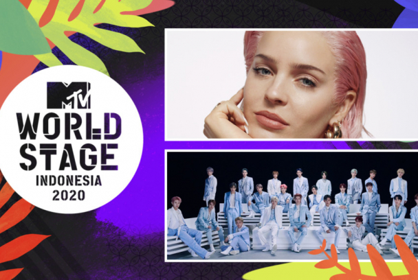 MTV World Stage Indonesia: Anne-Marie & NTC