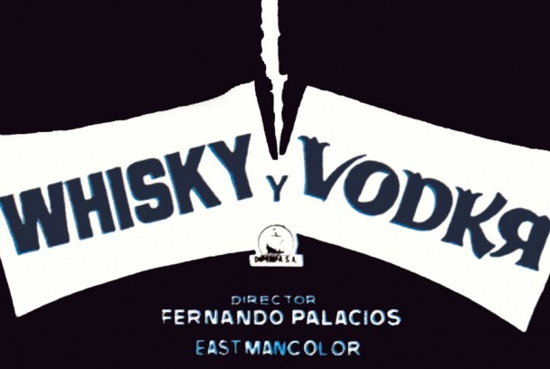 Whisky y vodka